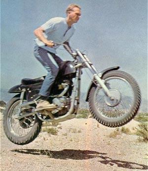 Steve Mcqueen Desert Racer Metisse
